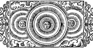 Olaus Magnus Historia om de nordiska folken. Bok 1 - Kapitel 18 - Om mångårdar och ännu något om solens afspeglingar. Utgivningår 1555.
